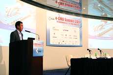 AsiaPay speaks at the 4th eCMO Summit, Joseph Chan