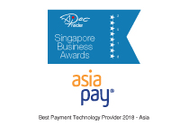 聯款通很榮幸獲頒發「Best Payment Technology Provider 2018 - Asia」獎。