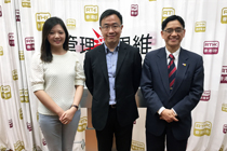 Mr. Joseph Chan is invited to be the guest of the radio program of RTHK.