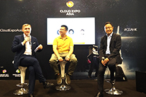 AsiaPay CEO Joseph Chan joins the panel discussion at the Cloud Expo Asia 2019 in Hong Kong