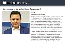 AsiaPay Associate Director Mr. Max Ng - Is Asia ready for a Cashless Generation?