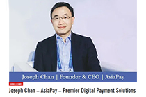 AsiaPay CEO Mr. Joseph Chan is glad to be featured in the cover story of The Fearless Entrepreneurs To Watch 2019, APAC special edition of The Enterprise World.