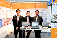 AsiaPay participated in the Sydney Internet Show, Joseph Chan