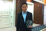 AsiaPay wins the Best CNP Program Outside the U.S. Award at CNP Expo 2013 in Orlando, Joseph Chan