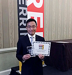 聯款通榮膺 2013 Red Herring Top 100 Global Award, Joseph Chan