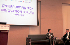 联款通获邀参与「Cyberport Fintech Innovation Forum 2015」