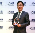 AsiaPay wins Best Company of the Year for Electronic Payment Solutions & Innovation / Regional award, Joseph Chan