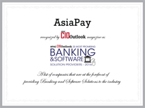 AsiaPay recognized by APAC CIO Outlook magazine as being 25 Most Promising Banking and Software Solution Providers 2559