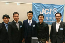 AsiaPay was glad to attend the Ocean JCI's FinTech event, Joseph Chan