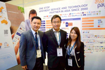 AsiaPay exhibited at Seamless 2017 in Singapore, Joseph Chan