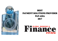 AsiaPay received the Best Payment Solutions Provider Pan Asia 2017 Award from Global Banking & Finance Review in London.